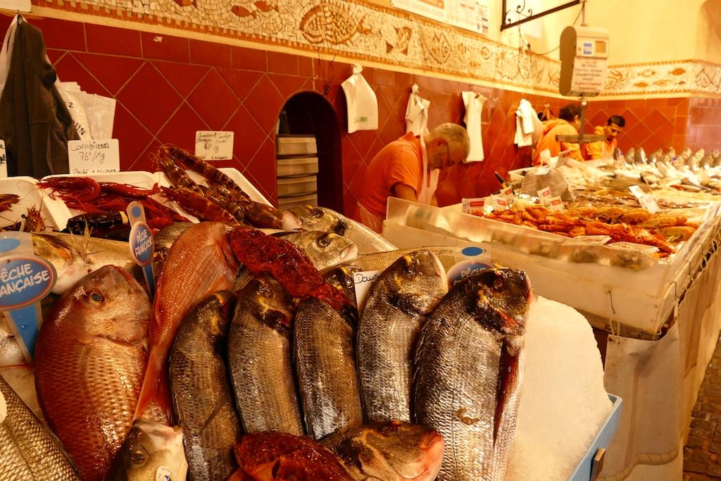 Le marché des poissons