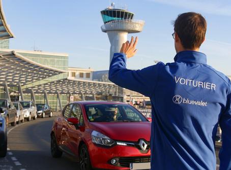 Blue Valet : Service de parking avec voiturier à l'aéroport de Nice