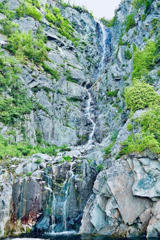 Les cascades à Tadoussac