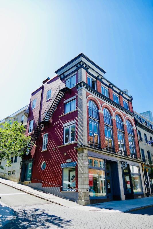 Rue Saint-Jean à Québec