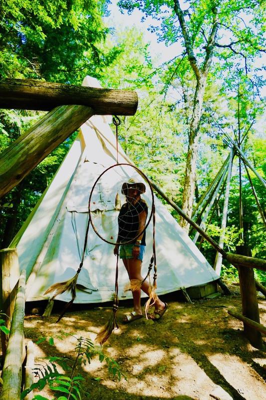 Camps amérindiens