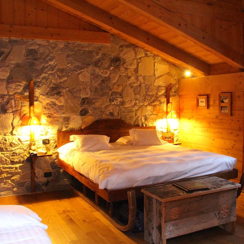 La chambre du skieur