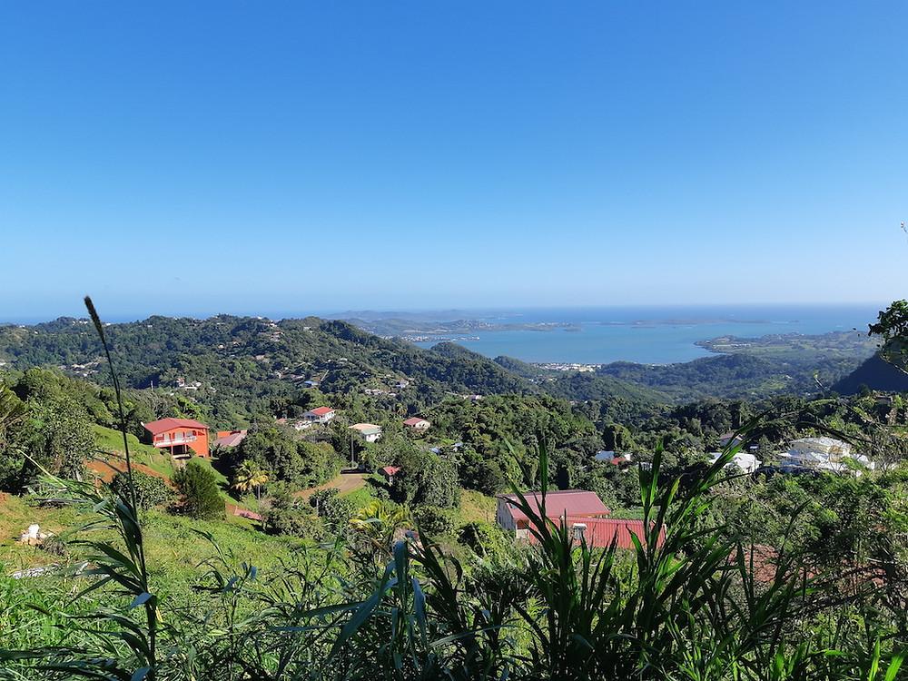 Vue panoramique en Martinique