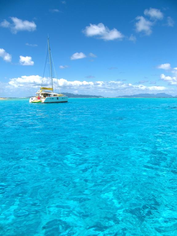 Le lagon de Bora