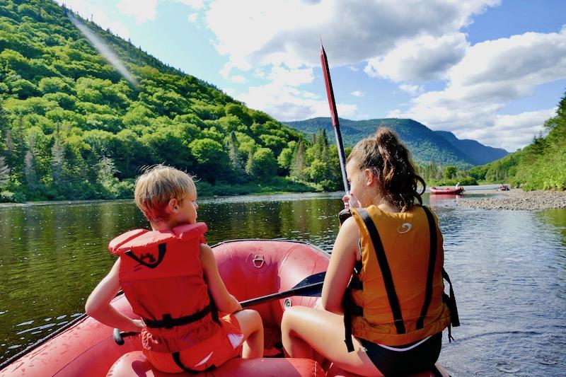 Rafting parc de la Jacques Cartier