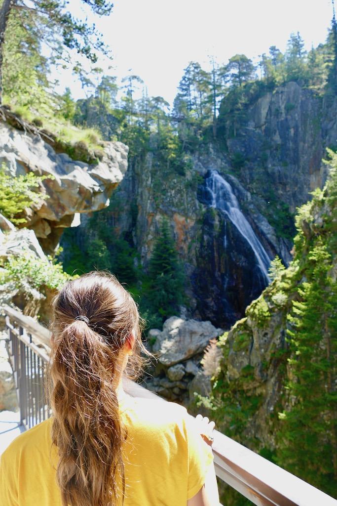 La cascade du Boréon