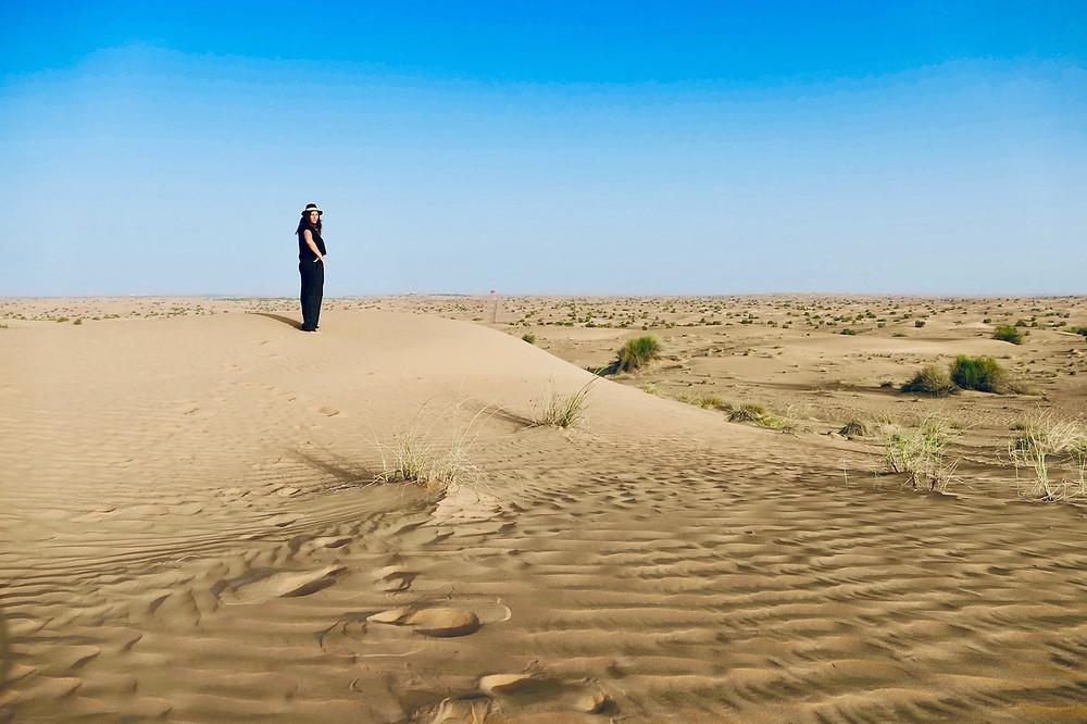 le désert à Dubaï