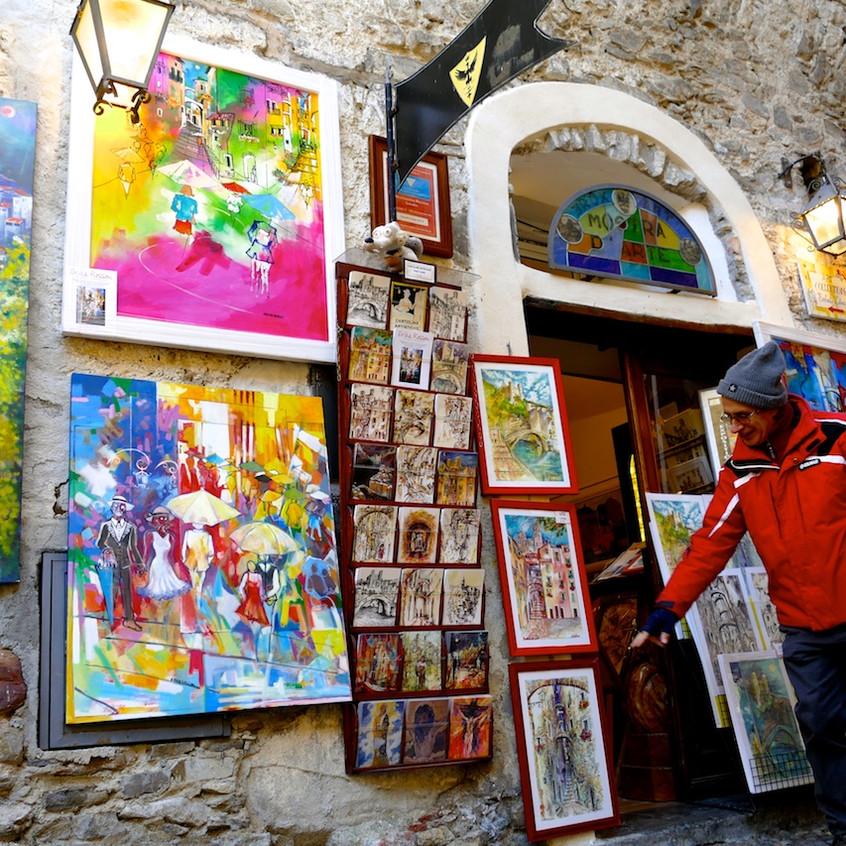 Galeries du village de Dolceacqua