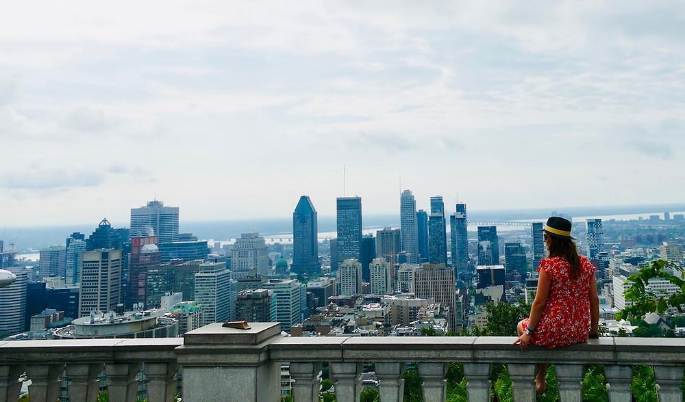 Parc du Mont Royal à Montréal