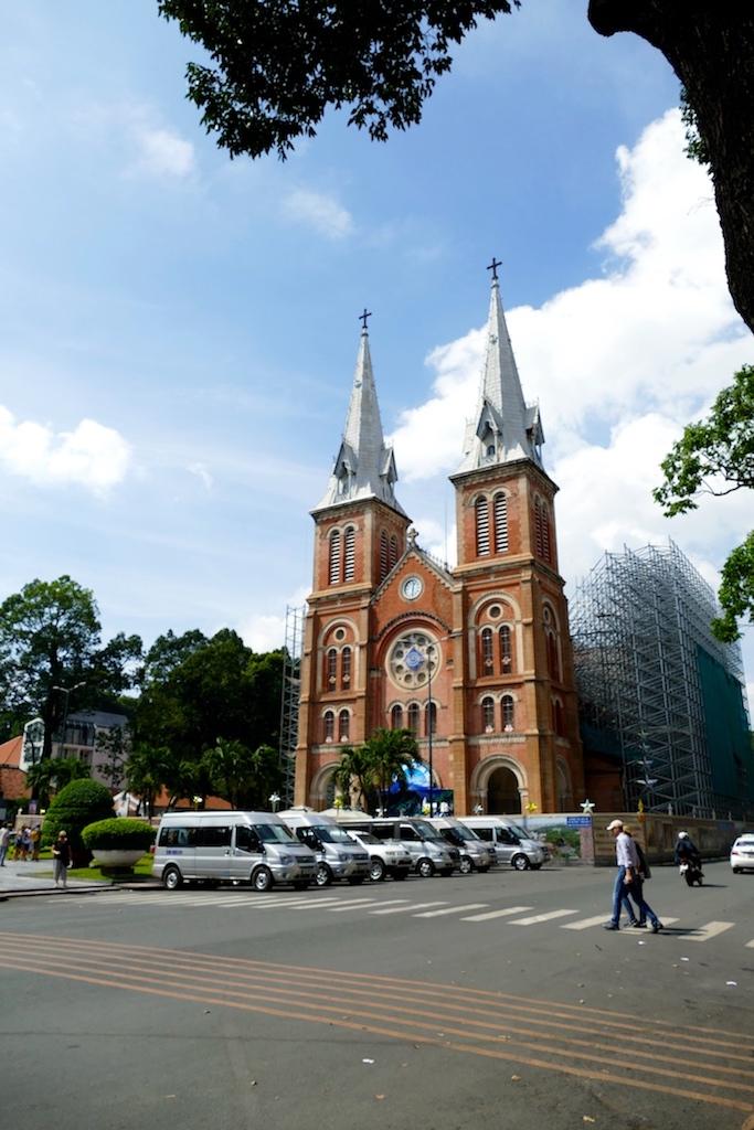 Cathédrale à Ho Chi Minh