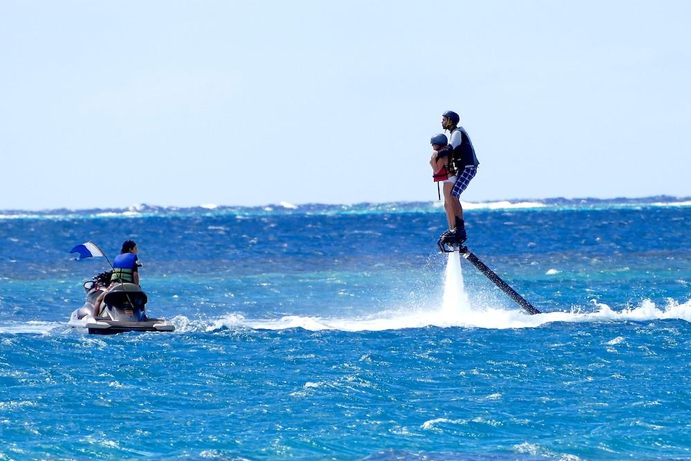 Flyboard à Moorea