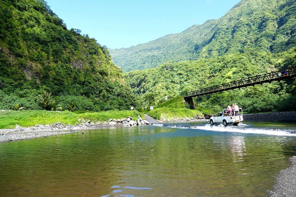 Découverte de la vallée de la Papenoo à Tahiti