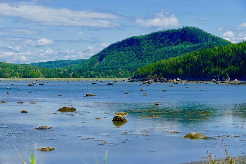 Le parc national du Bic au Canada