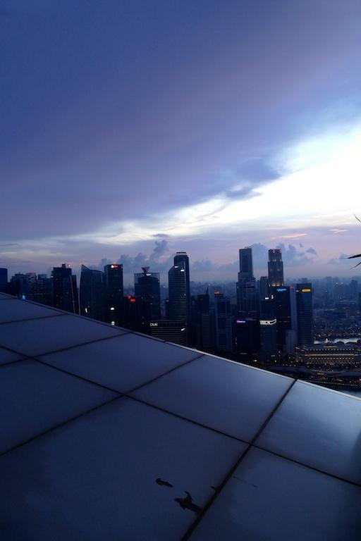 Coucher du soleil Marina Bay Sands8