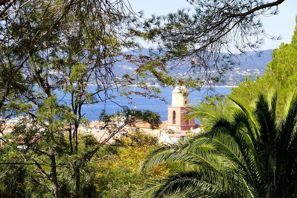 vue de st-tropez depuis la citadelle