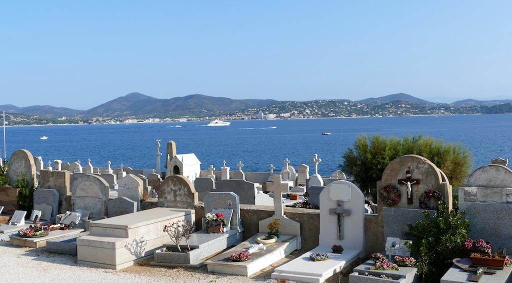 cimetière marin de Saint-Tropez