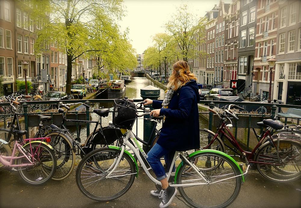 Le vélo à Amsterdam