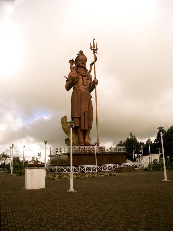 La statue de Shiva