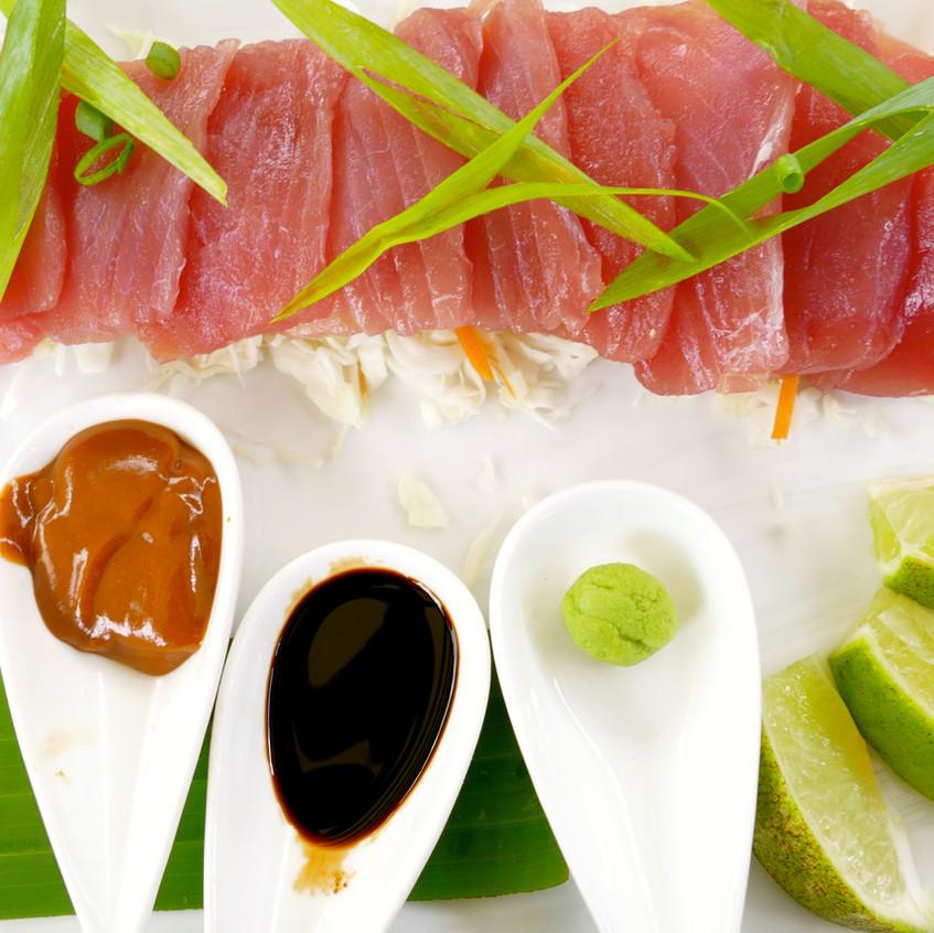Assiète de sashimi au Manava