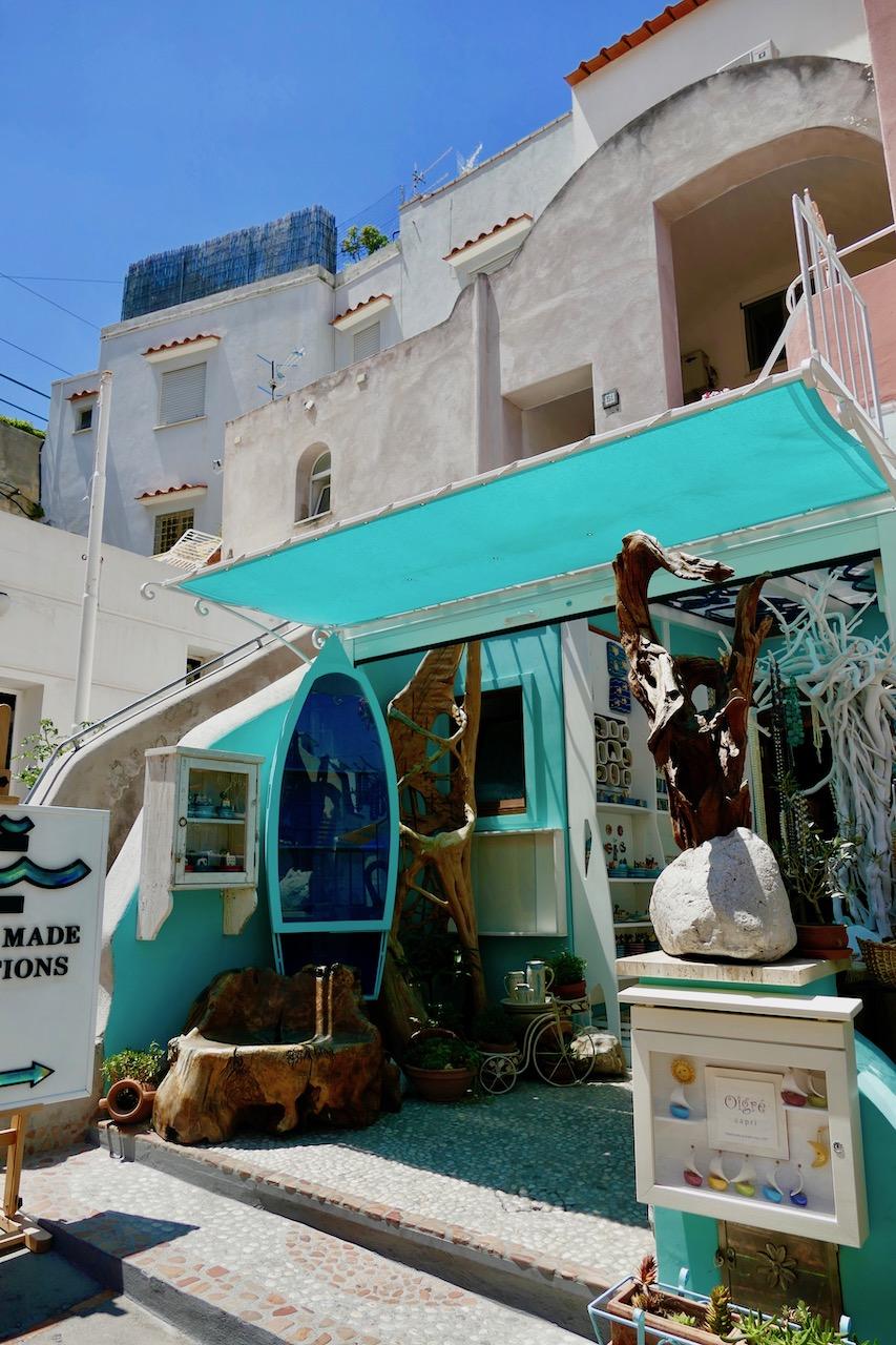 Boutique bohème de Capri