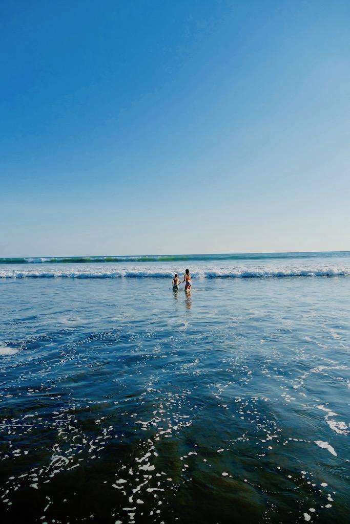 La plage du Clandestino
