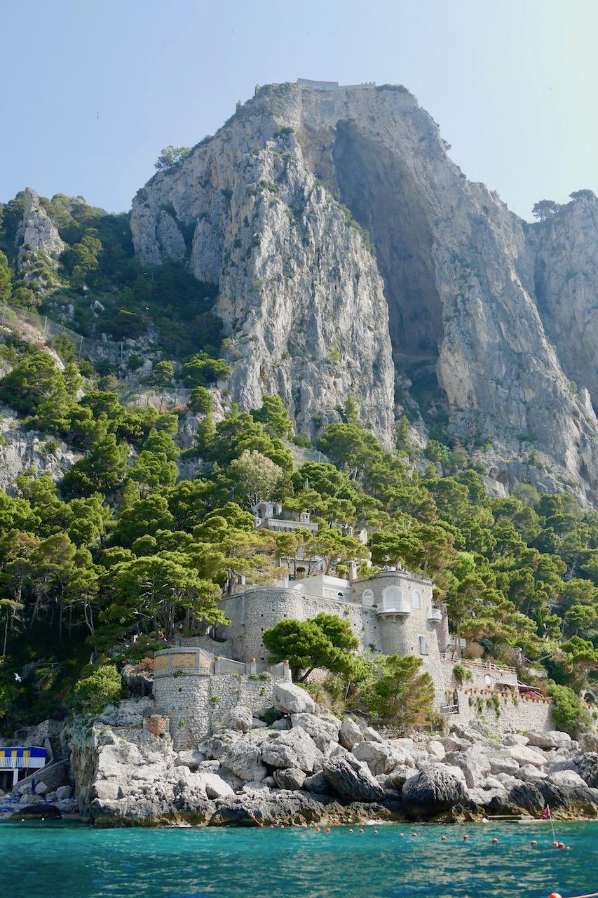 Les pics rocheux de Capri