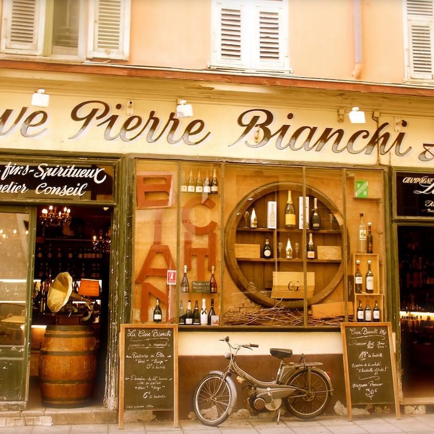Cave à Vin dans le vieux Nice