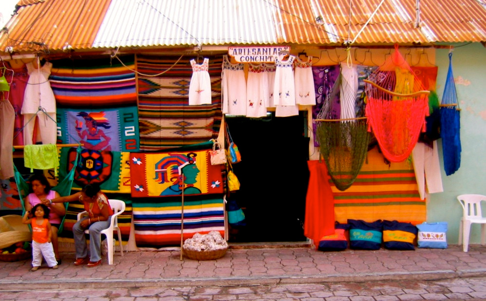 Magasin de souvenirs à Isla Mujeres