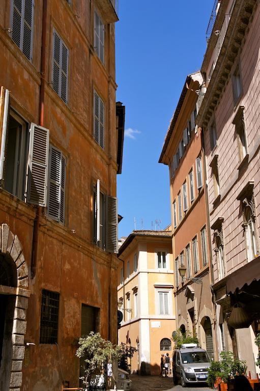 Balade dans les ruelles de Rome