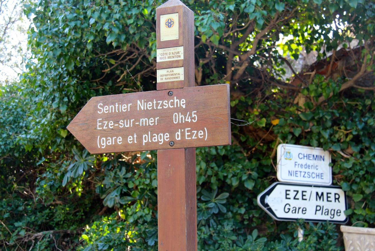 Sentier Nietzsche à Eze