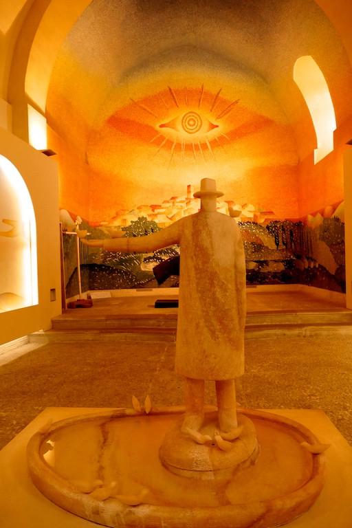 La Chapelle de pénitents blancs de Folon