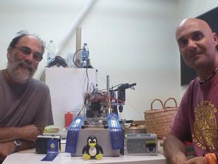 OpenMarTech at the Maker Faire Lisbon, 2015