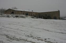 la ferme en hiver