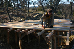construction des cabanes