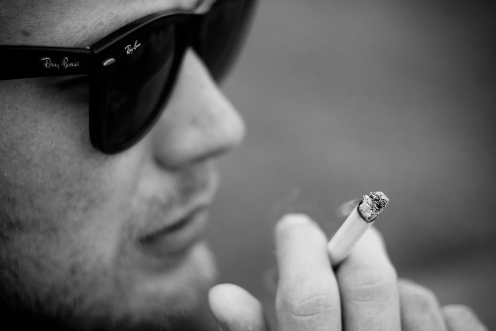 Ray Ban & Cigarette