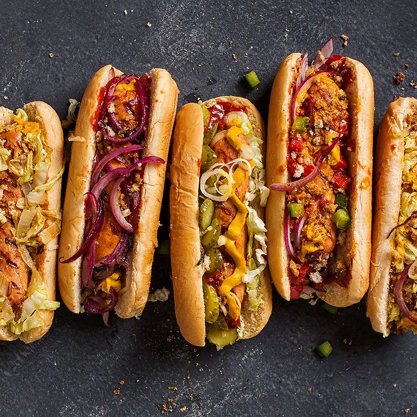 Sunrise Community Meal - To-Go: Hot Dogs! (Meat & Veggie)