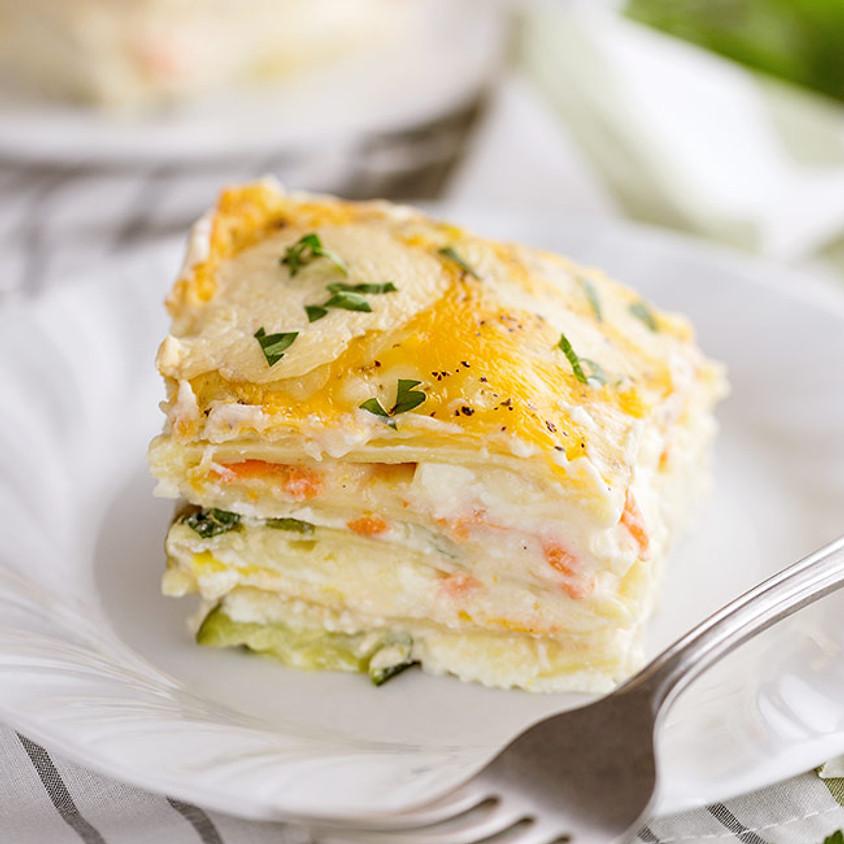 Sunrise Community Meal: Picnic - Veggie Lasagna!
