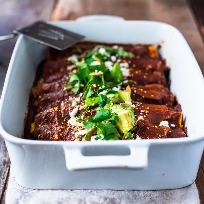 Sunrise Community Meal - To-Go: Veggie Enchiladas!