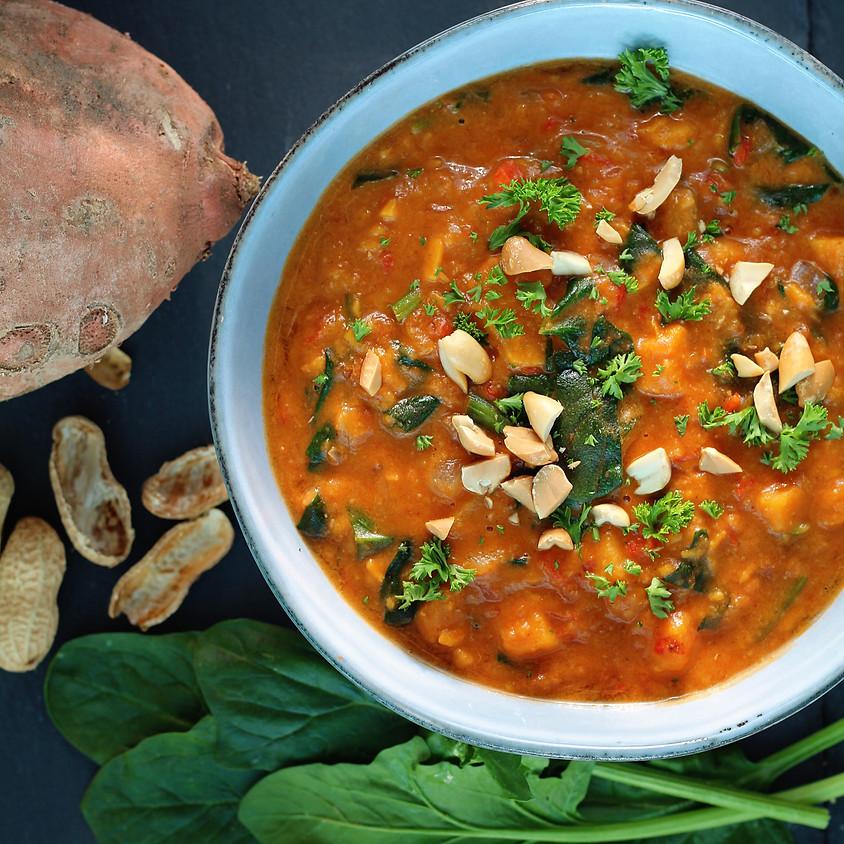 Sunrise Community Meal - To-Go: Peanut Stew!