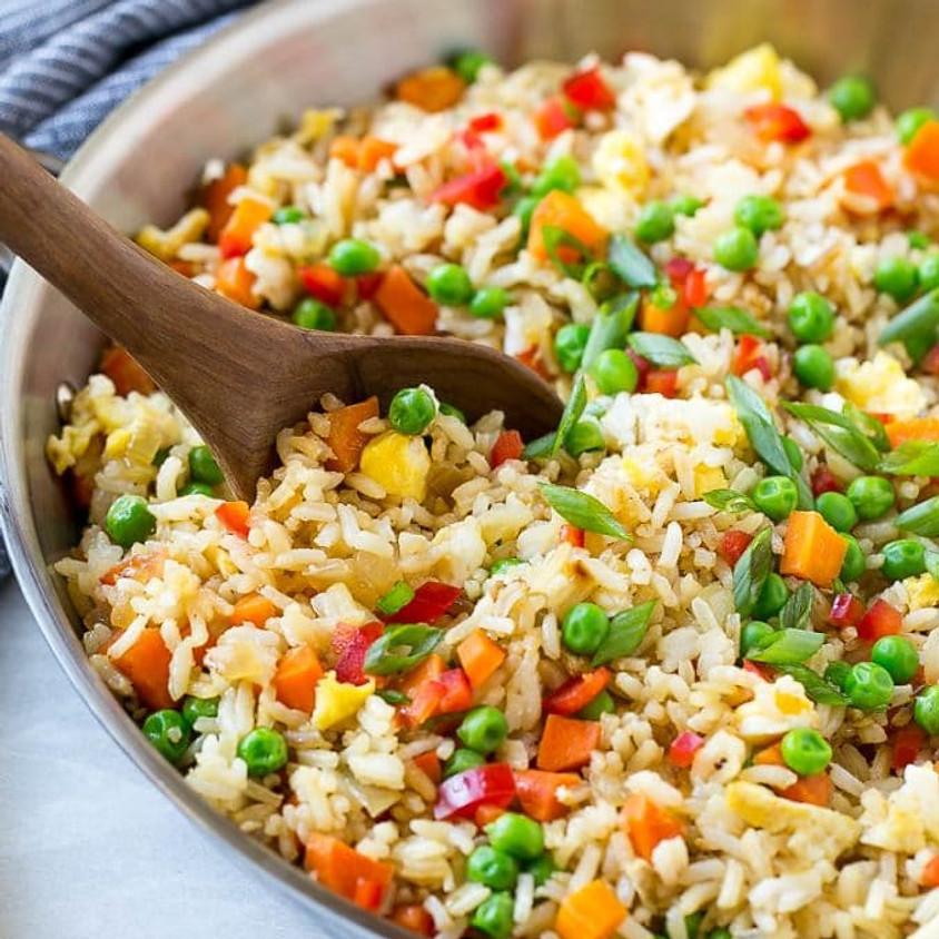 Sunrise Community Meal - To-Go: Veggie Fried Rice!