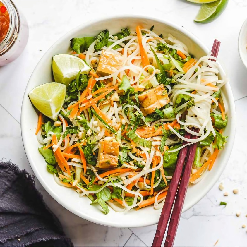 Sunrise Community Meal- Rice Noodle Salad Picnic & To-Go Style