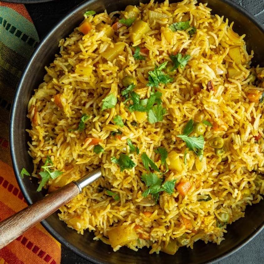 Sunrise Community Meal- Biryani Picnic & To-Go Style