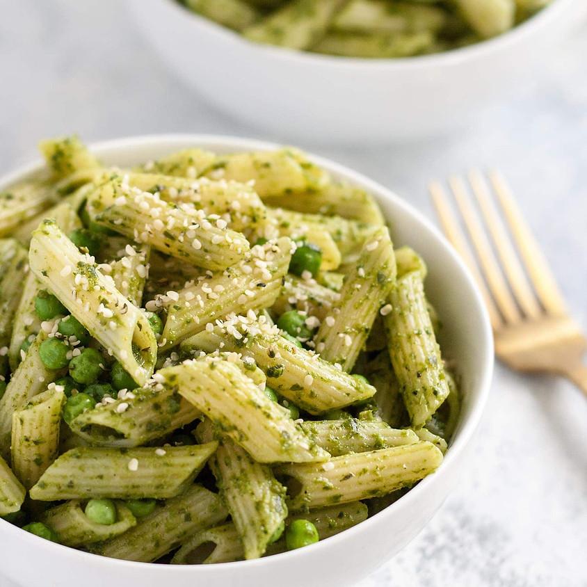 Sunrise Community Meal - To-Go: Pesto Pasta!