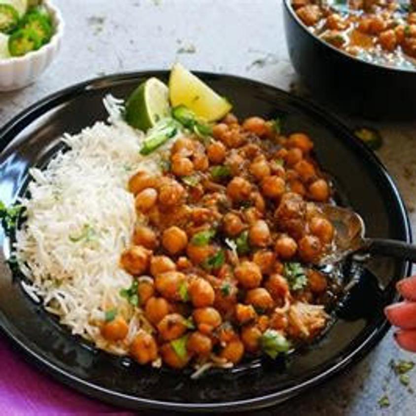 Sunrise Community Meal - To-Go: Channa Masala! (Gluten-Free & Vegan)