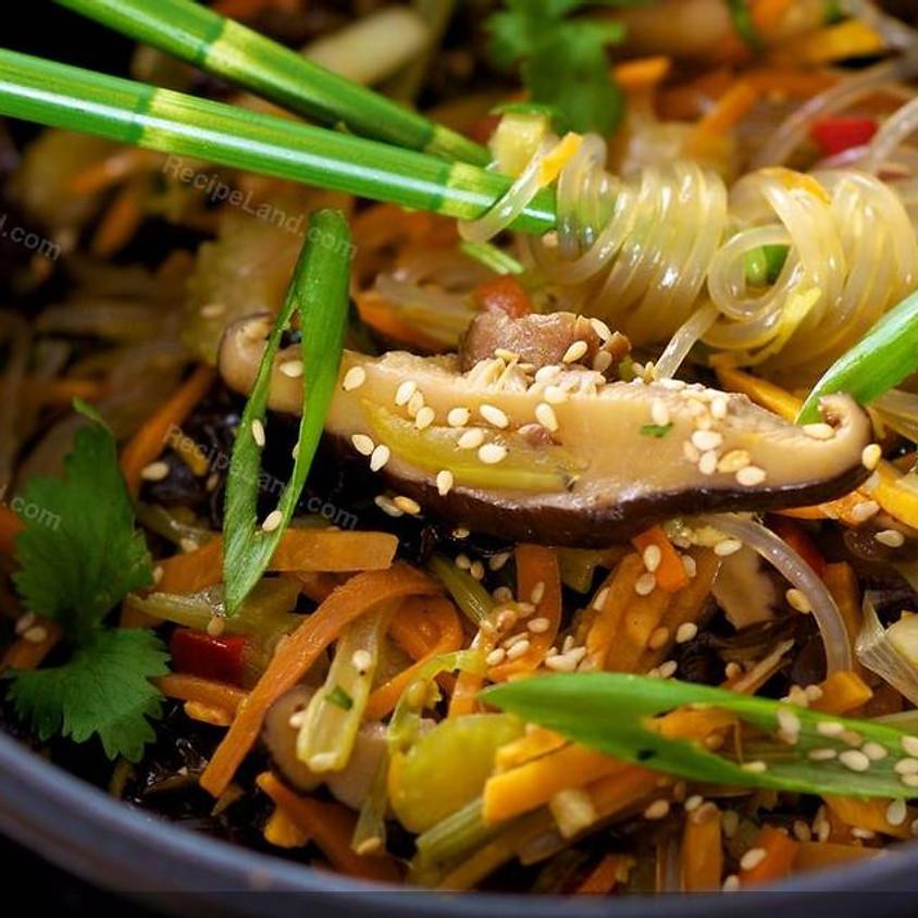 Sunrise Community Meal - To-Go: Japchae!