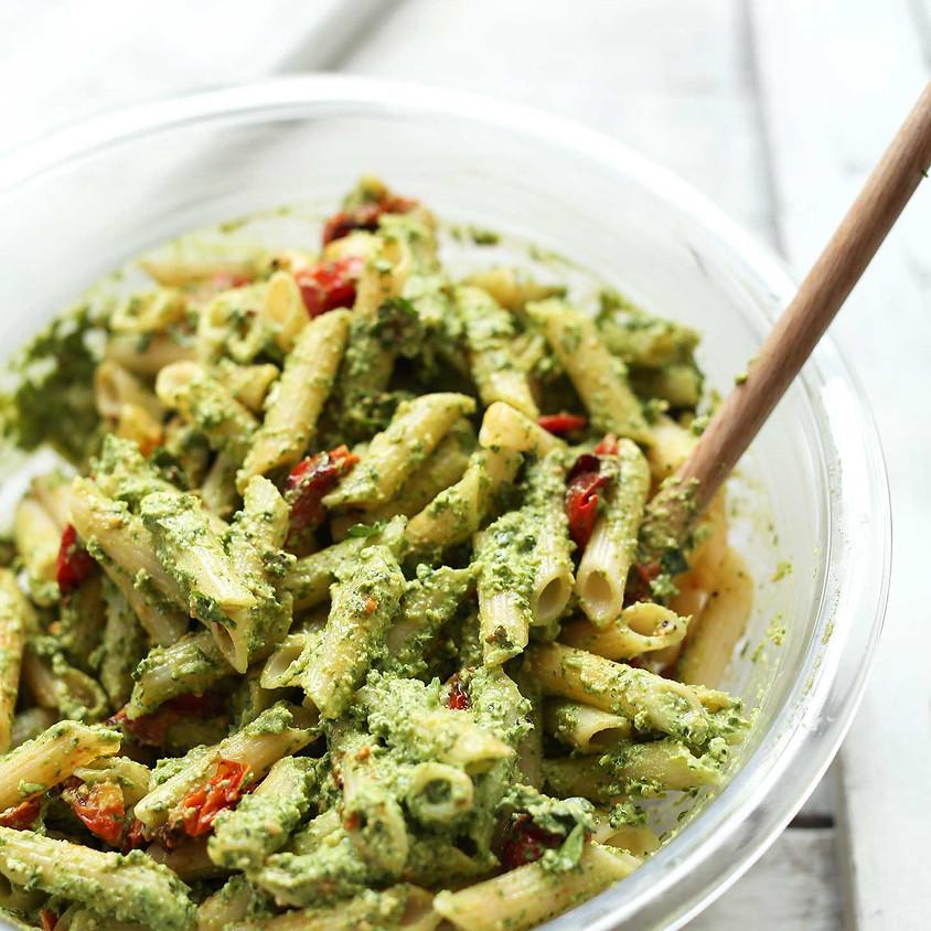 Community Meal: Pesto Pasta Salad