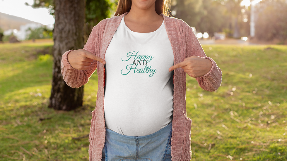 Happy AND Healthy Jersey Short Sleeve Tee