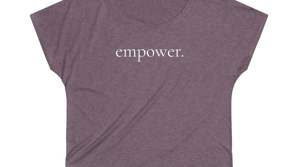 Empower. tee