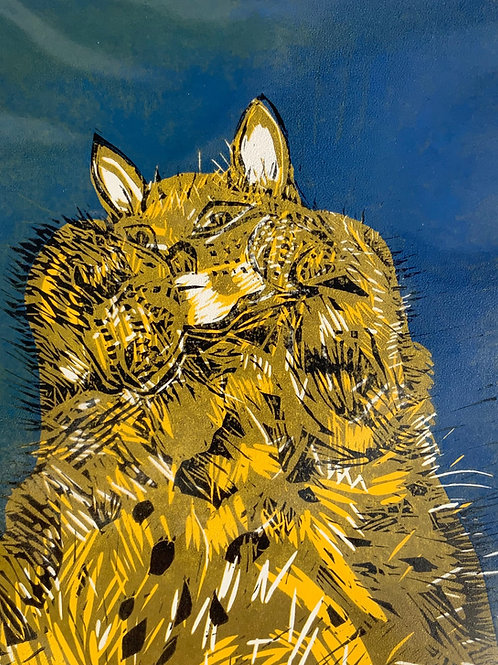 'Chewie' giclee print by Sarah Goodfellow
