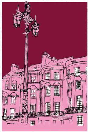 Pink Brighton Street